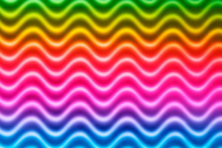 Abstract colorful blur geometric curvy waves pattern.