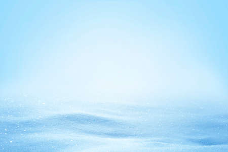 Natural sunny winter snow drifts background.