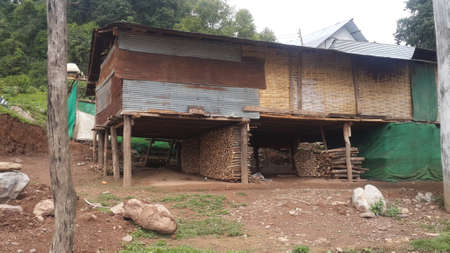 olds: poor house in North of Thailand