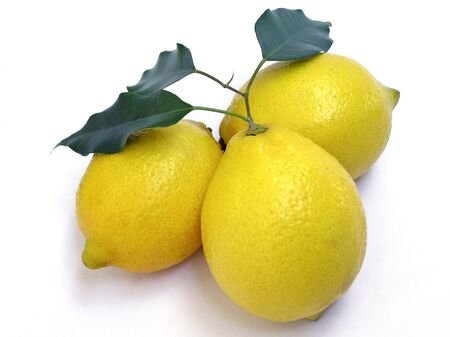 sourness: Three lemons seen from mountain