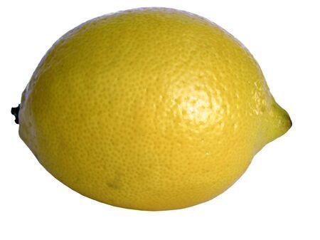 sourness: Fruit lemons on white background