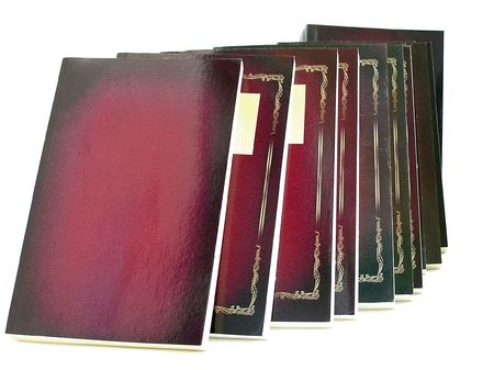 volumes: The trilogy in volumes Stock Photo