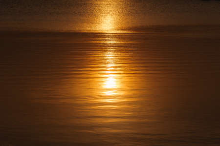 reflecting: Sun reflecting in water surface