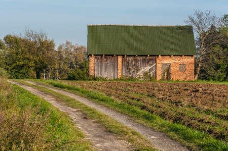 Old building on a farm