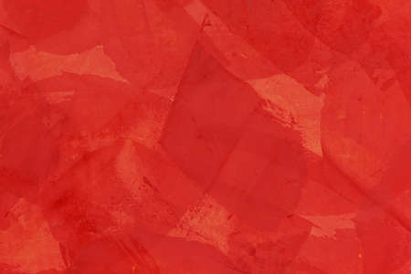 reds: Wonderful designed wall with reds, in layers, with translucent character.