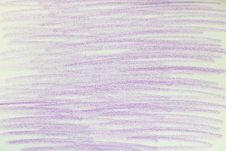 Violet chalk marks on paper.
