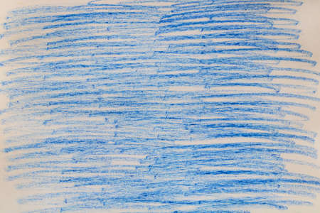 Blue chalk marks on paper.