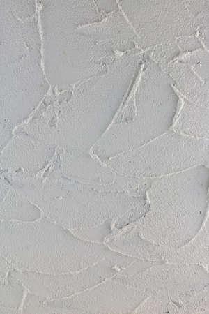 Wall design with white plaster 免版税图像