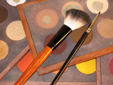 make-up, brushes, cosmetics, make-up and brushes photo