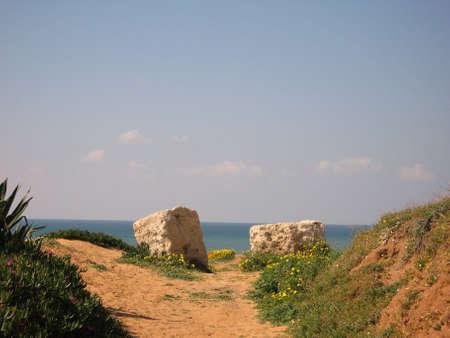 horison: two stone on horison