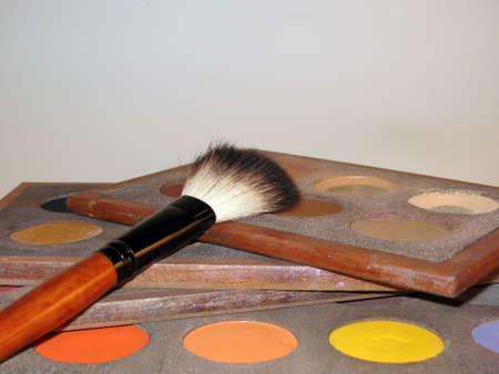 make-up, brushes, cosmetics, make-up and brushes photo