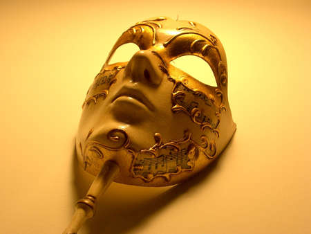 to conceal: venice mask
