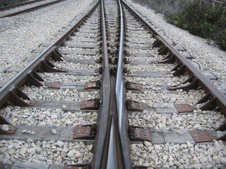 trein paar, trein controle centrum, twee tracks