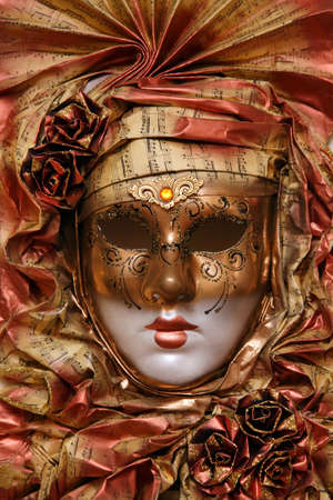 face mask for the carnival night, decoration photo