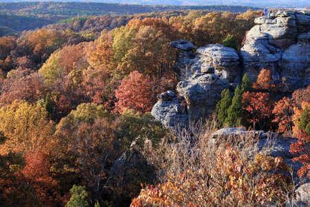 autumn season time in the mountains photo