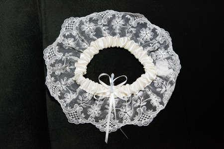 Giarrettiera cintura accessori personali, trama pizzo  Archivio Fotografico - 6342889