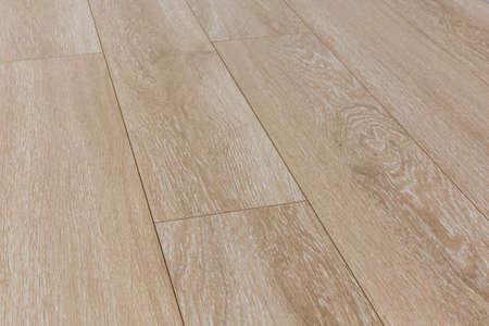 Wooden laminate floor texture, diagonally view