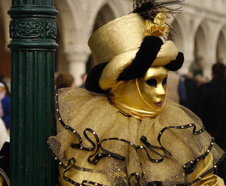 VENICE - FEBRUARY 17: The Carnival of Venice is an annual festival that starts around two weeks before Ash Wednesday and ends on Shrove Tuesday or Mardi Gras in February 17, 2007 in Venice, Italy.