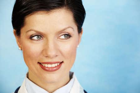 historia clinica: doctor femenino cauc�sico hermoso