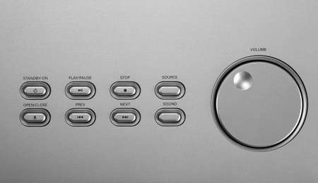 speaker volume control with buttons Stock Photo - 2710338