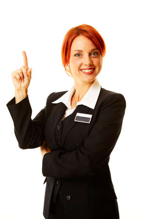 young caucasian woman as hotel worker Stock Photo - 7991679