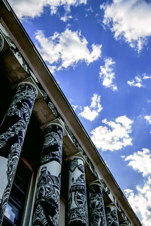 Ciel de graffitis