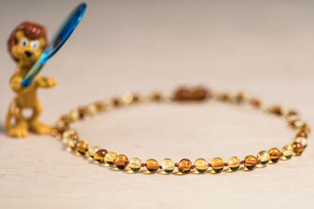 Childrens amber jewellery