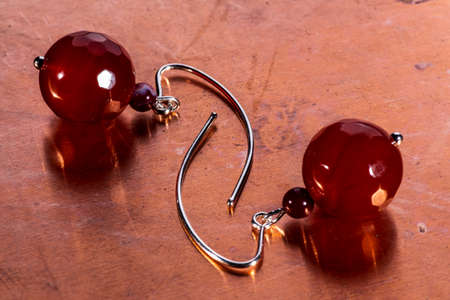 Gemtone earrings