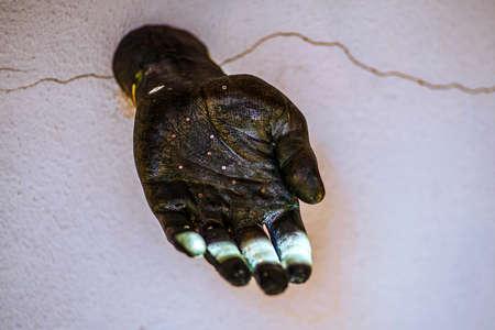 Green hand