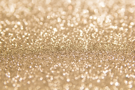 defocused abstract gold background Stock Photo