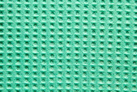 celulosa: celulosa textura verde esponja de la cocina como fondo