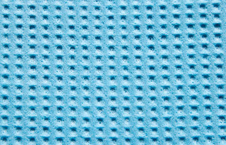 celulosa: Textura del azul de celulosa esponja de la cocina como fondo Foto de archivo