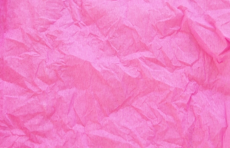 crumpled pink crepe paper texture as background Stock Photo - 24229592