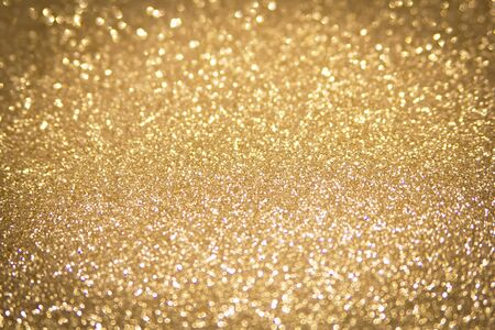 abstract defocused gold background, christmas