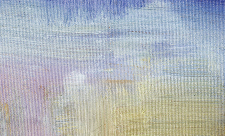 part of oil painting with brush strokes Stock Photo