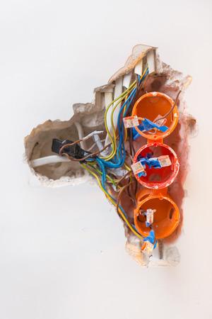 Repairing damaged sockets, installing new