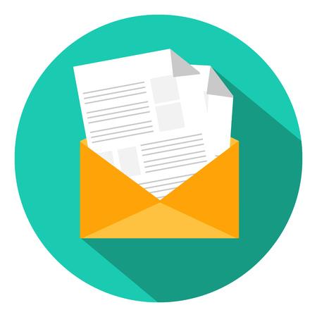 envelope icon: message mail envelope  icon
