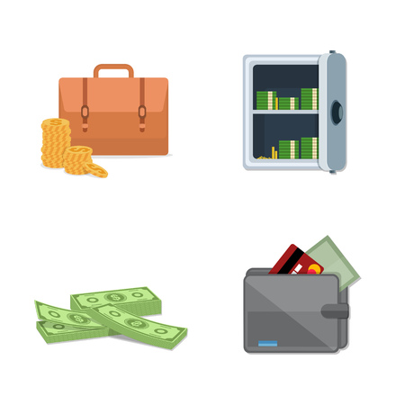Business Icons Illustration