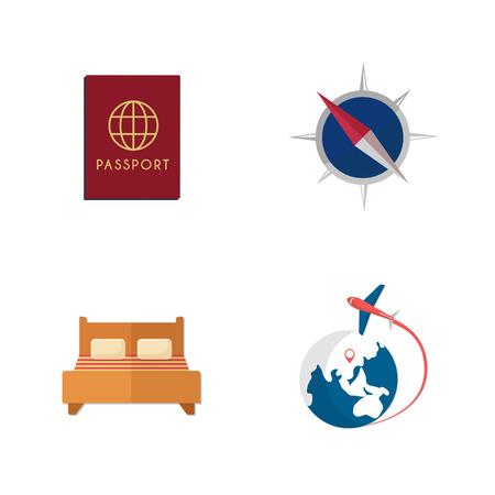 travel Icons Illustration