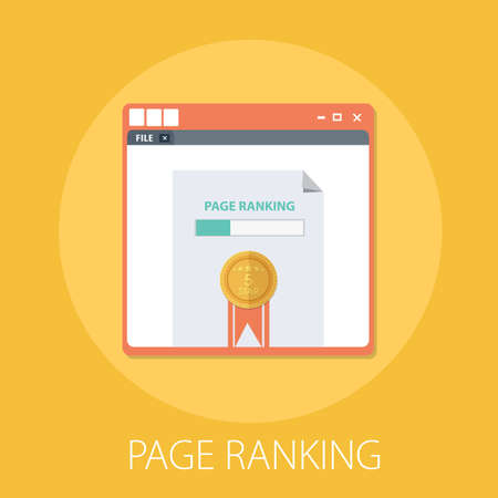 Vector website search rating and page rank with