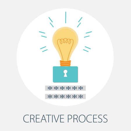 Vector illustration of creative concept design with