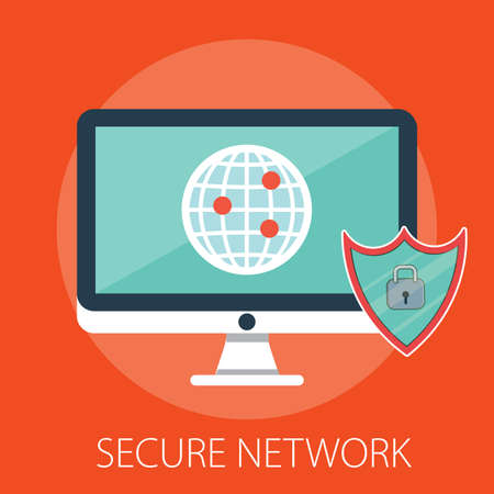 Vector security network and data protection with