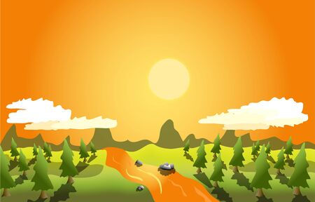 color backgrounds: Drawing color backgrounds summer vector