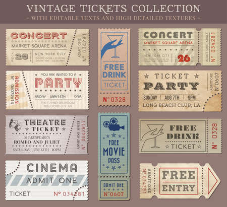 old movies: Hi quality tickets and coupons