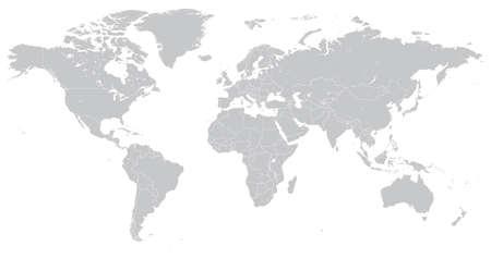 Alto detalle vectorial mapa del mundo poltico ilustracin alto detalle vectorial mapa del mundo poltico ilustracin organizada inteligentemente con capas mapas originales gumiabroncs Gallery