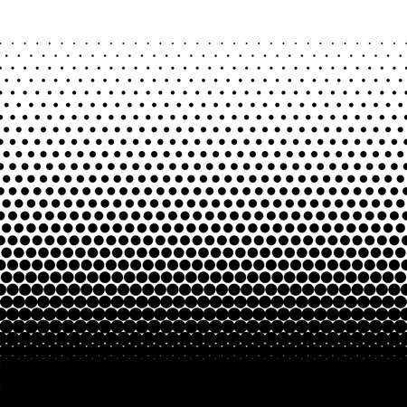 Medium dots halftone vector background. Overlay texture