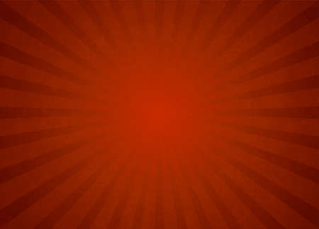 Red Vector Light Rays Background