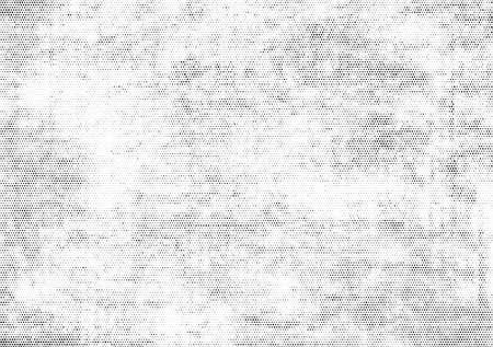 textura de patrón de semitono. Superposición de textura de vector grunge Ilustración de vector