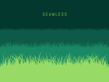 Grass Lawn Background Stock Vector - 116570055