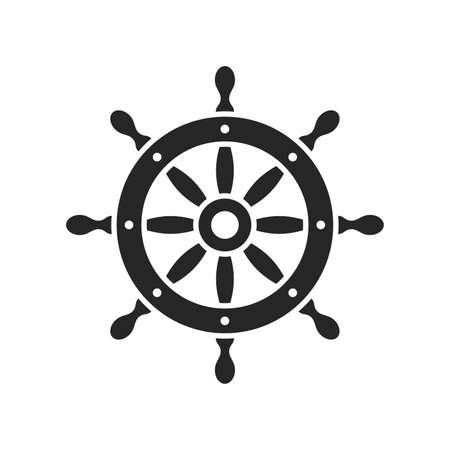 steering wheel vector illustration Иллюстрация